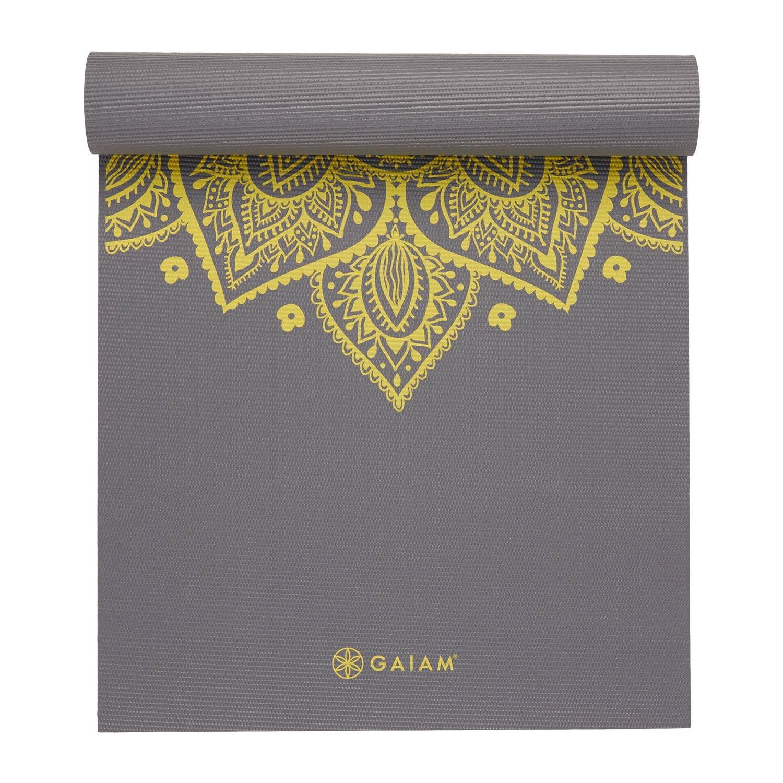 Gaiam Sundial Yogamat - Citron (5 mm)