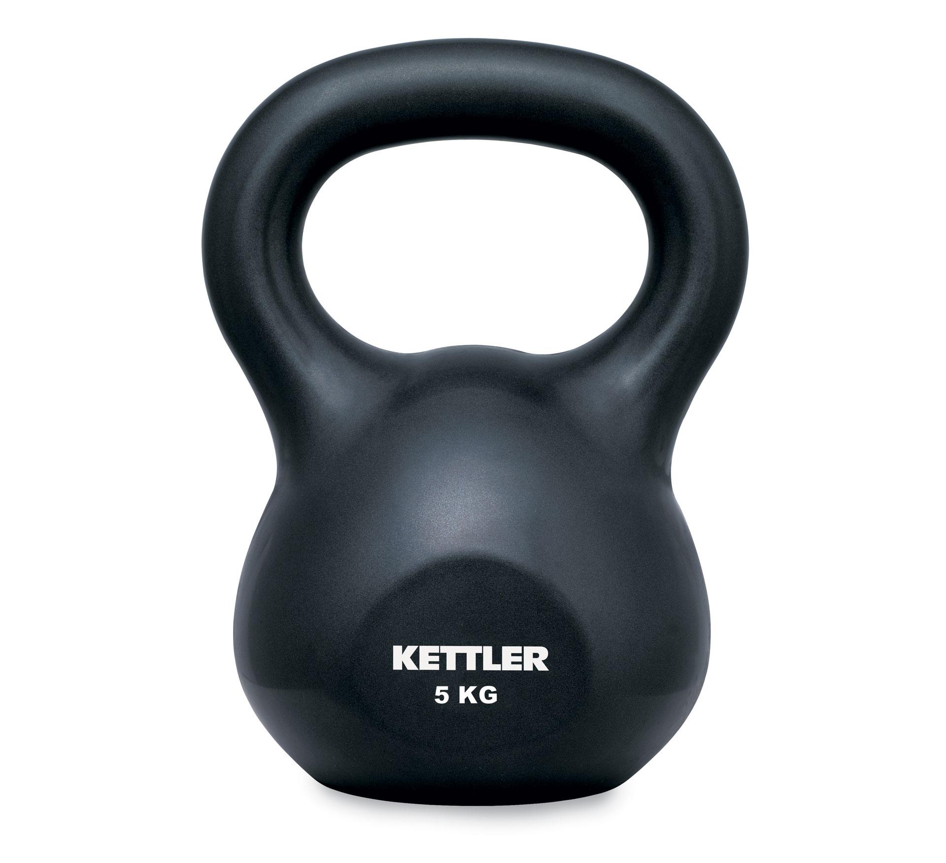Kettler Kettle Bell Basic 5kg zwart