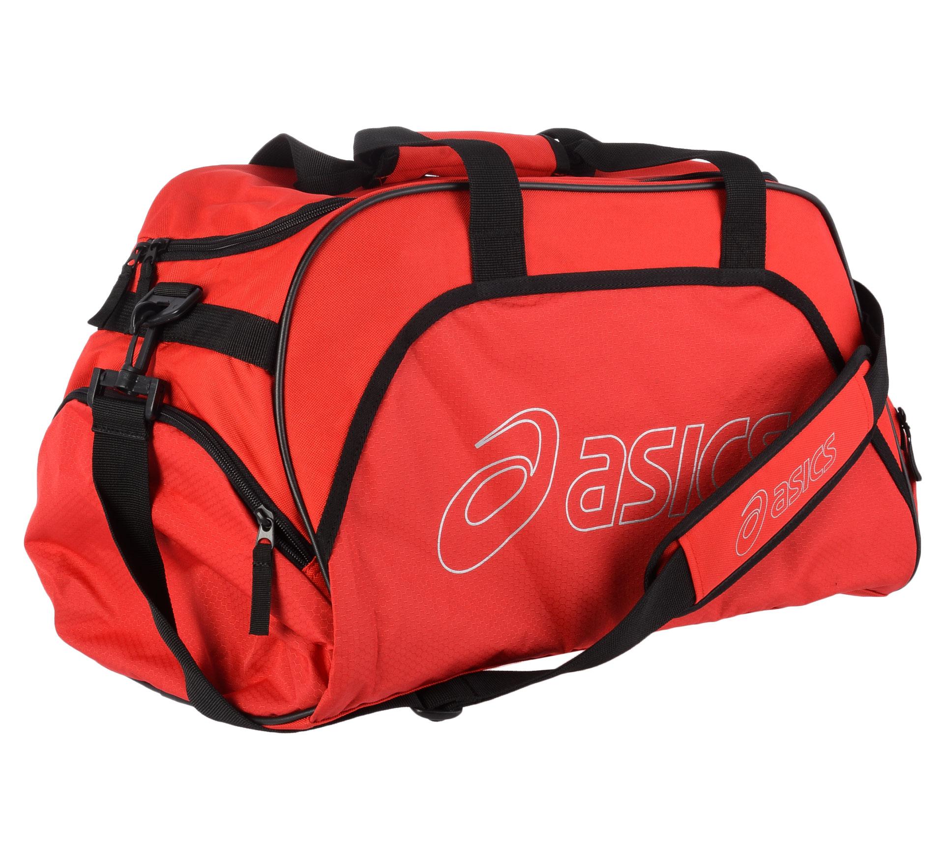 Asics  Medium Duffle Sporttas rood