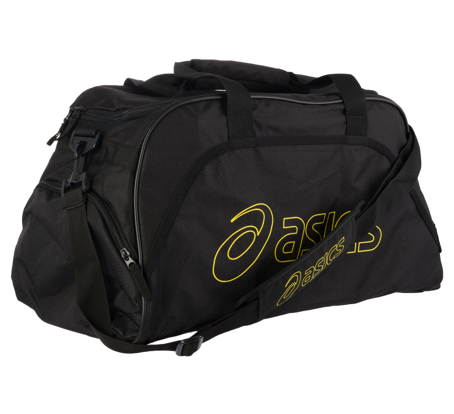 Asics  Medium Duffle Sporttas zwart - geel