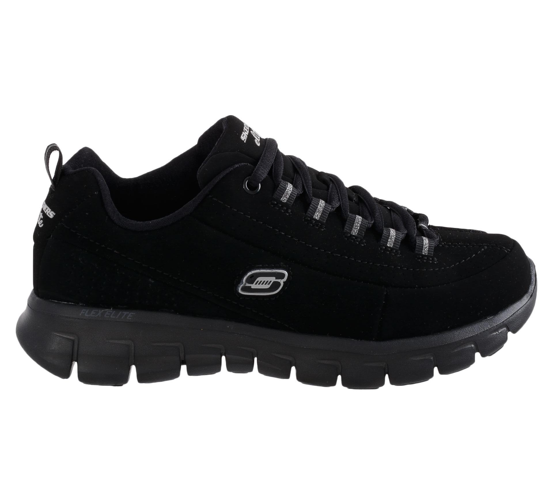 Skechers Synergy-Trendsetter Fitness Schoenen Dames zwart - zilver
