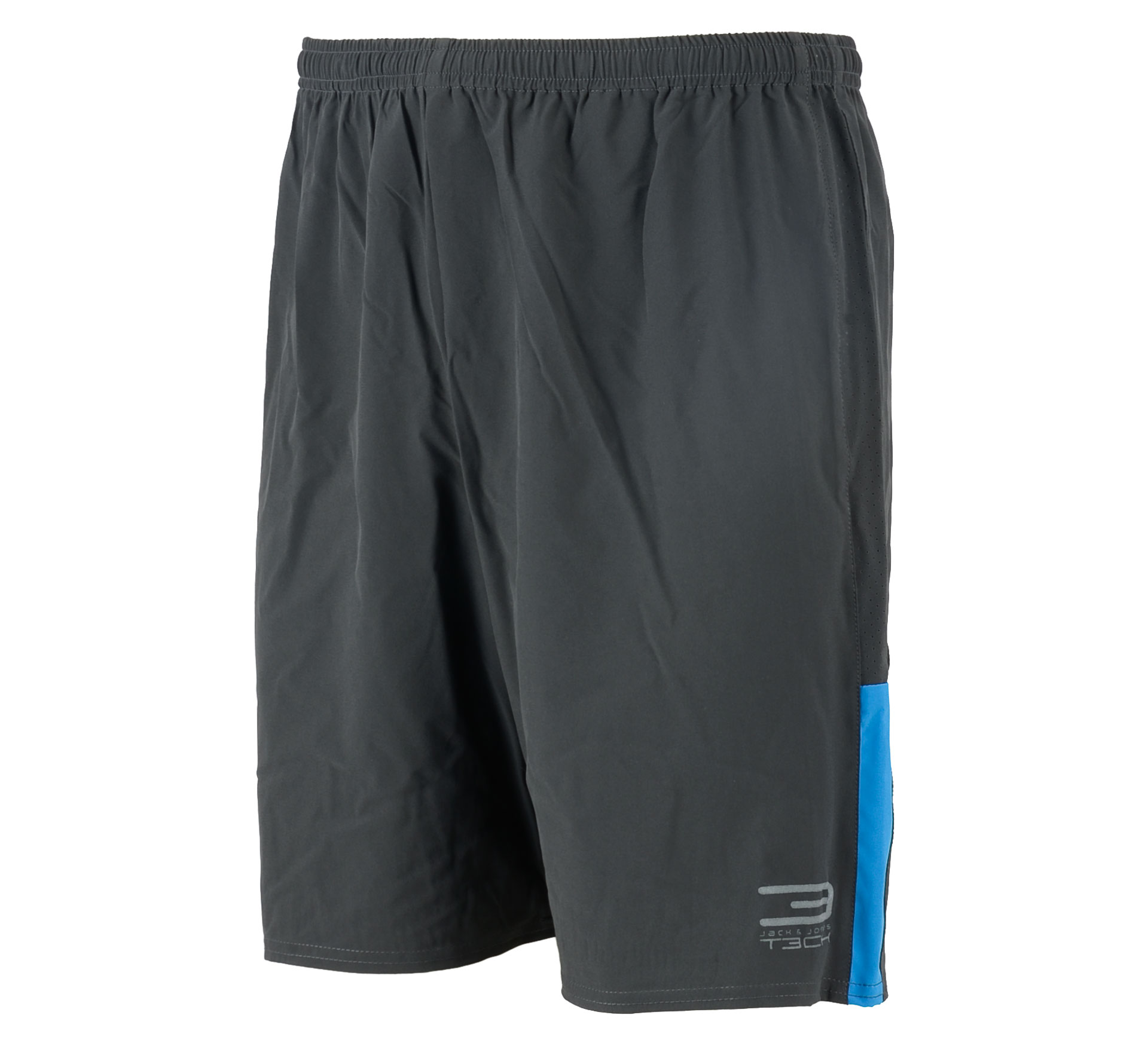 Jack & Jones T3ch Flex Trainings Short Heren zwart
