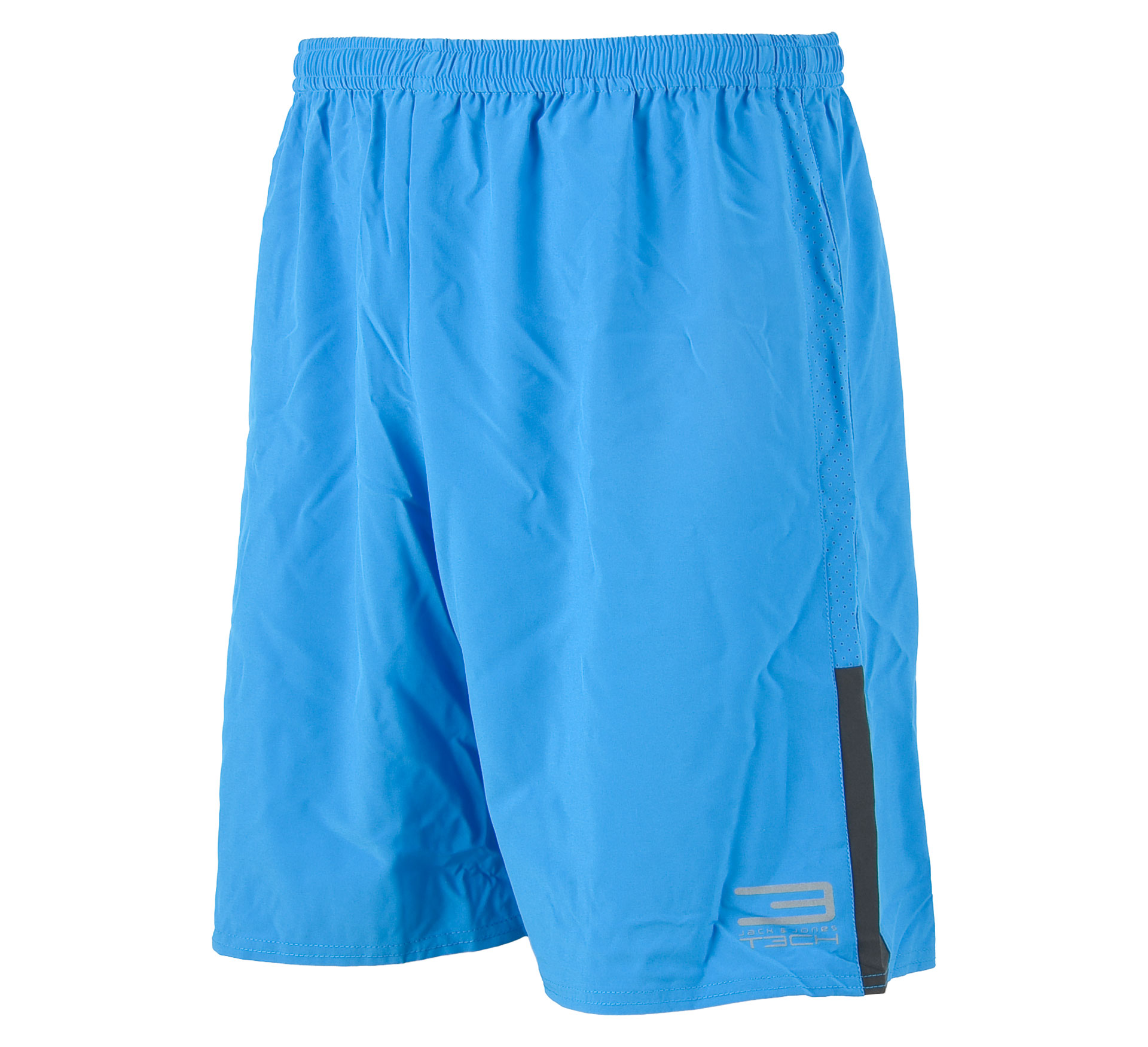 Jack & Jones T3ch Flex Trainings Short Heren blauw