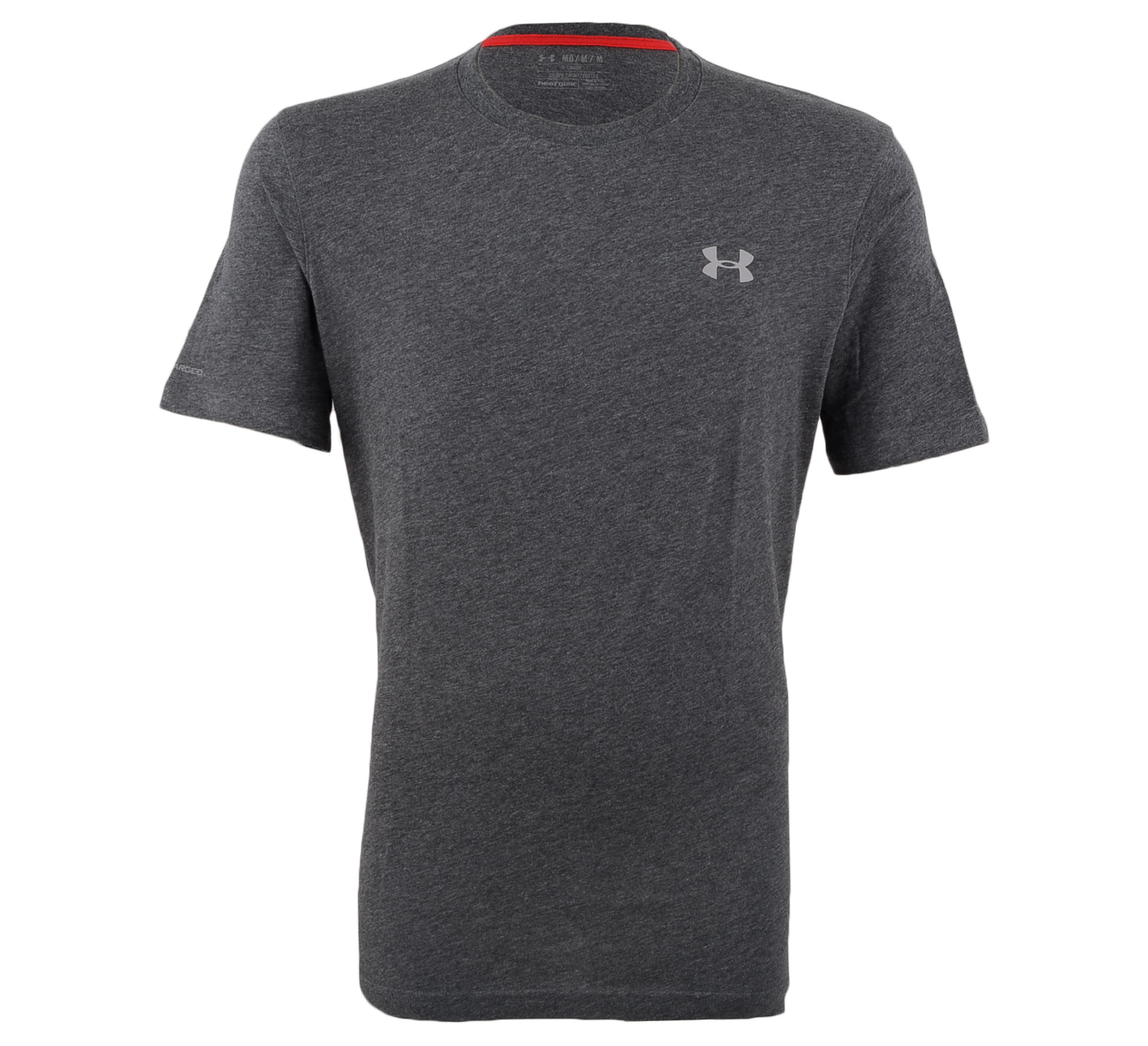 Under Armour  Charged Cotton T-shirt Heren donker grijs