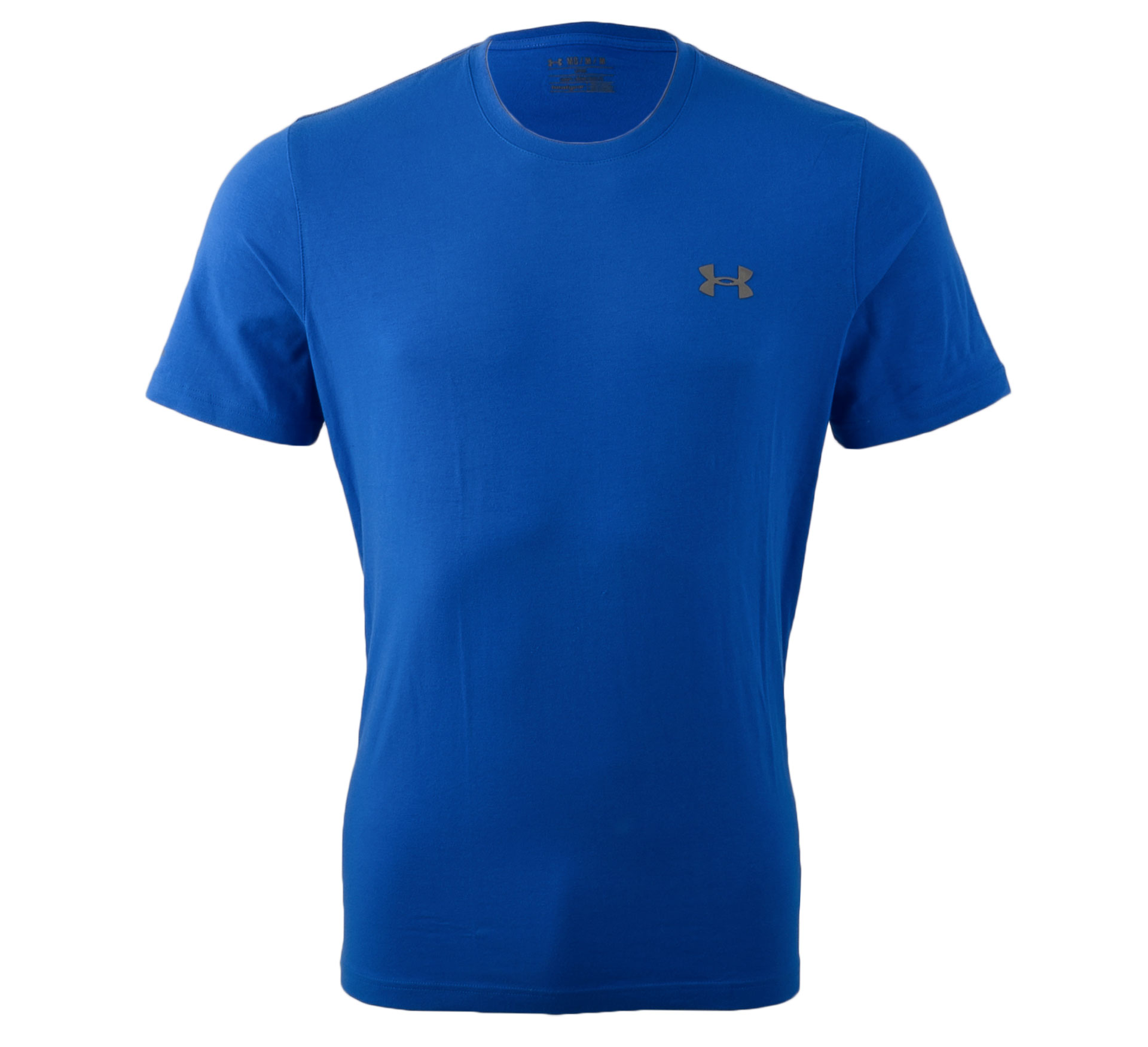 Under Armour Charged Cotton T-shirt Heren blauw