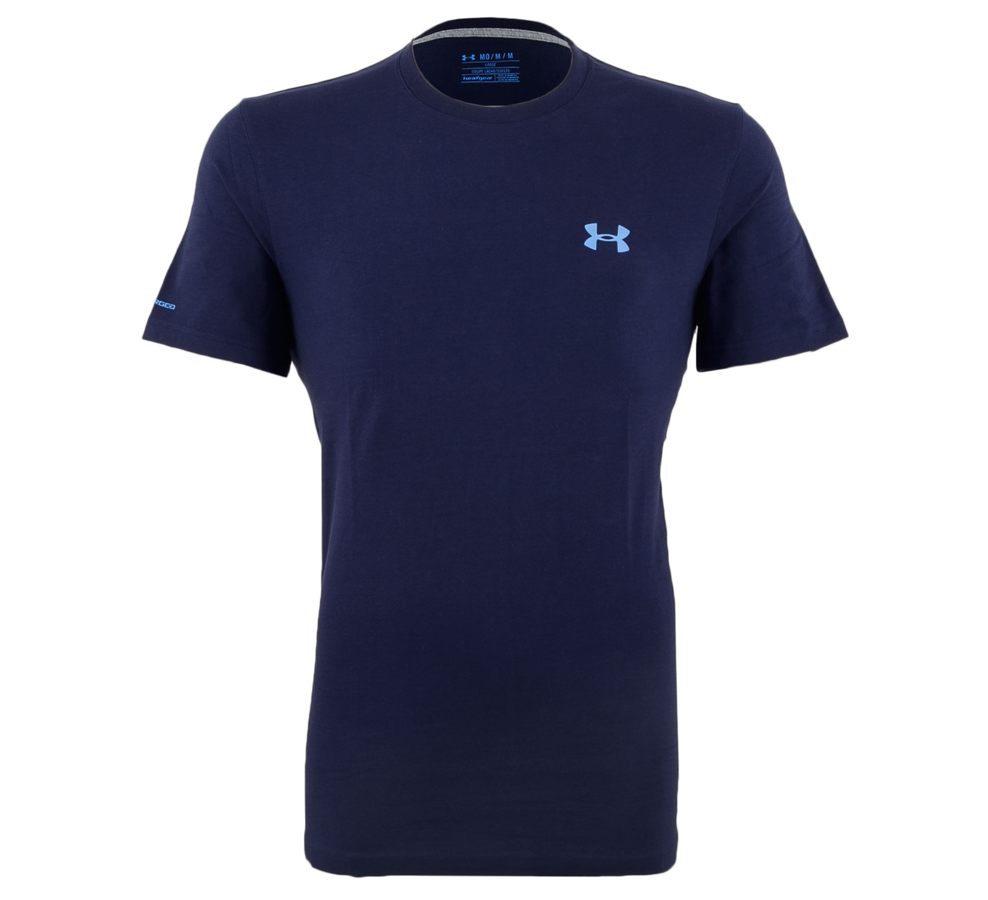 Under Armour Charged Cotton T-shirt Heren navy