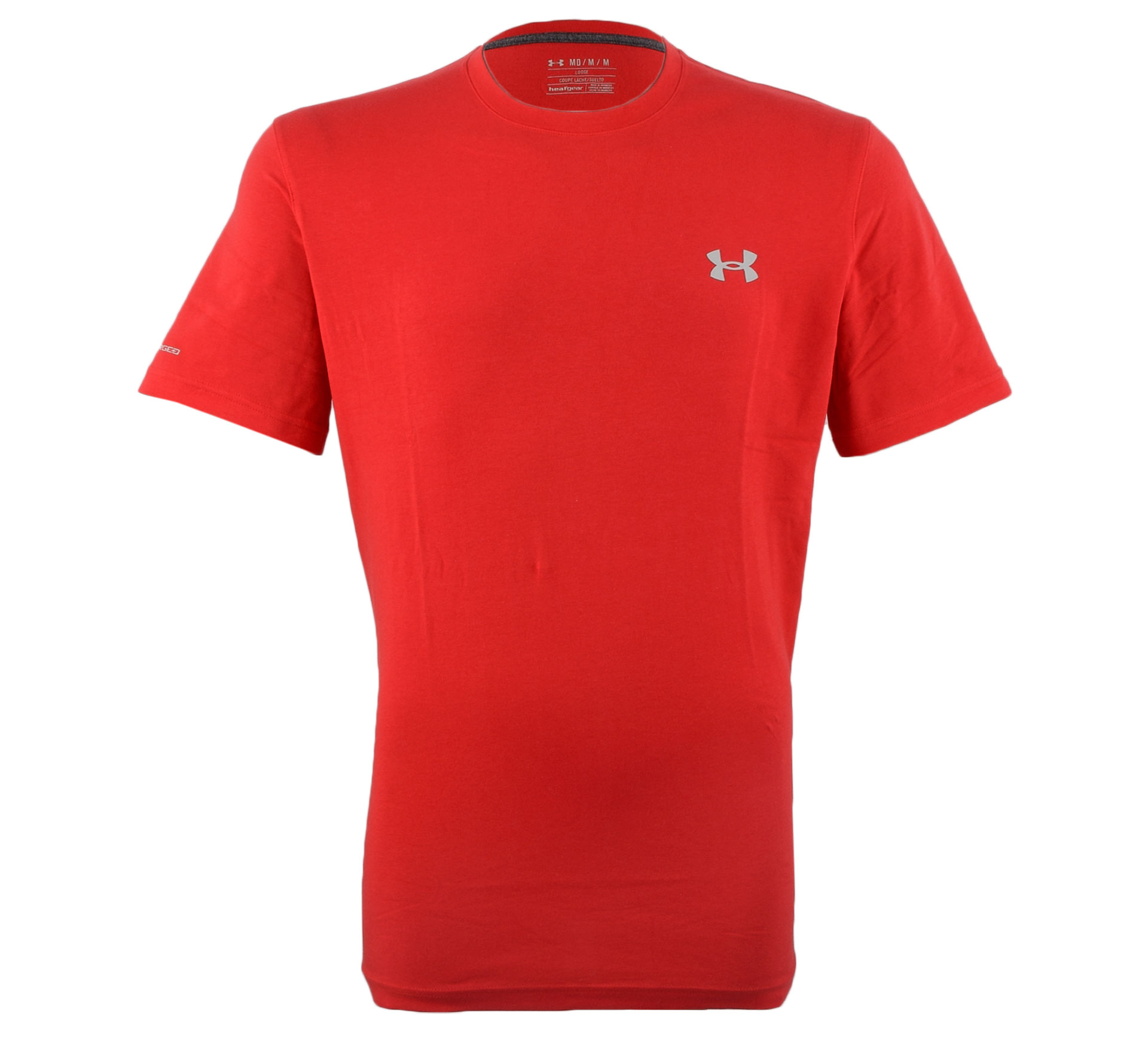 Under Armour  Charged Cotton T-shirt Heren rood