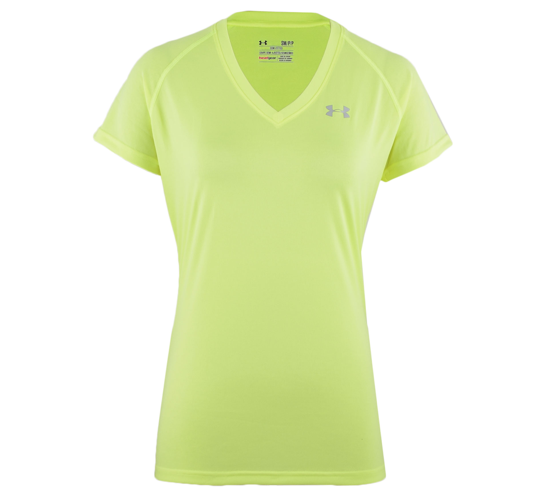 Under Armour Tech T-shirt Dames geel