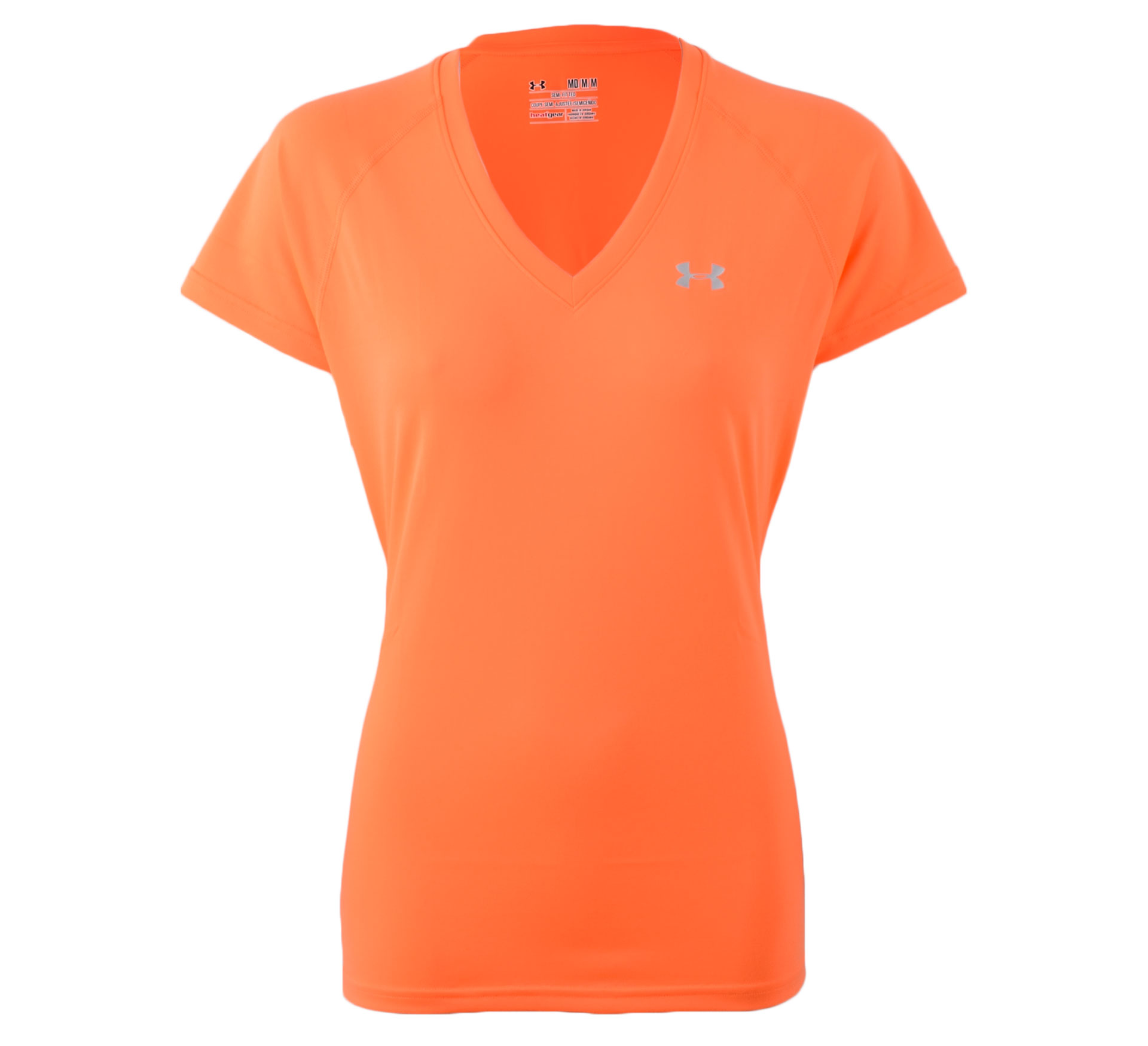 Under Armour Tech T-shirt Dames oranje