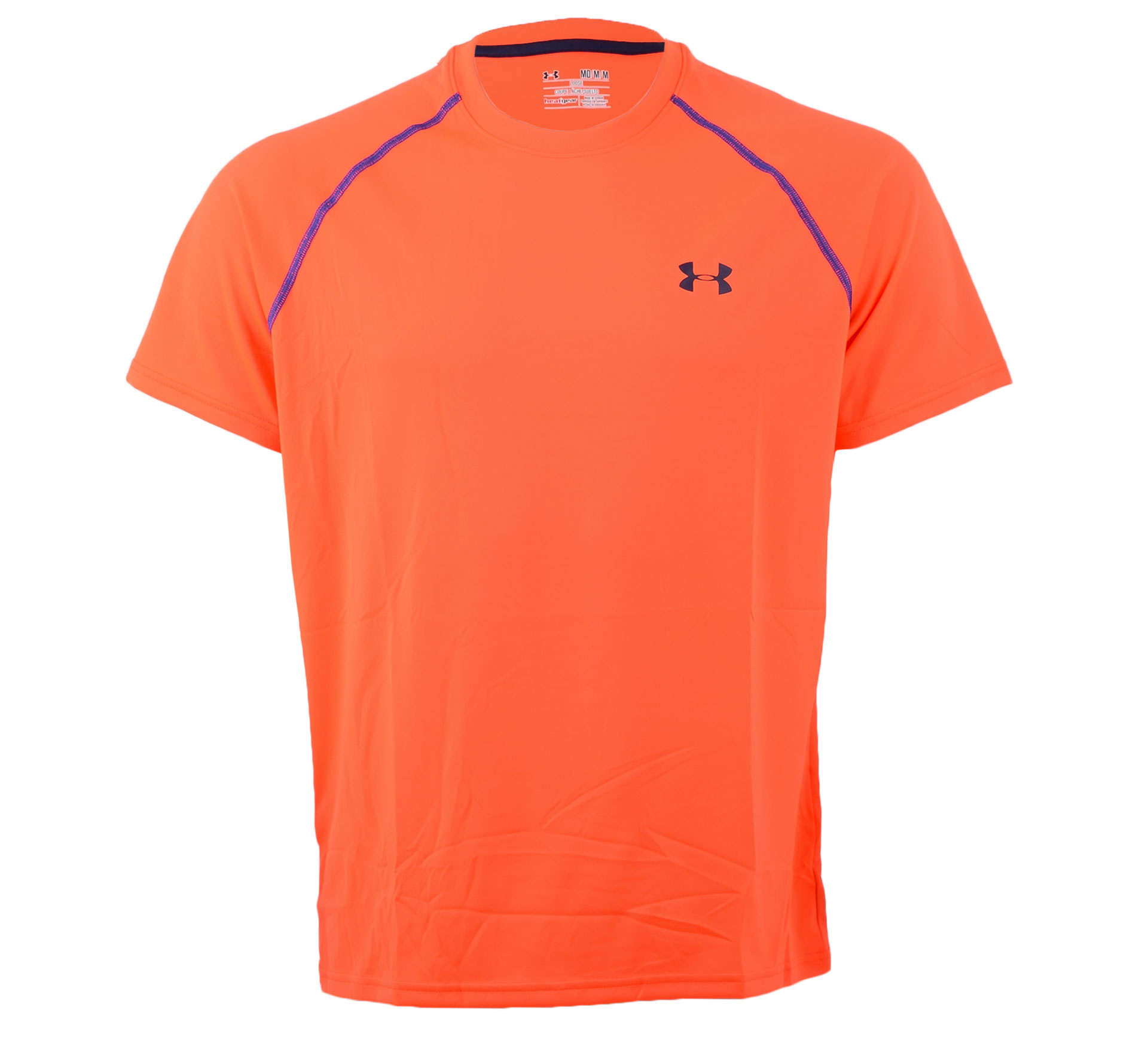 Under Armour  HeatGear Loose Tech T-shirt rood - blauw