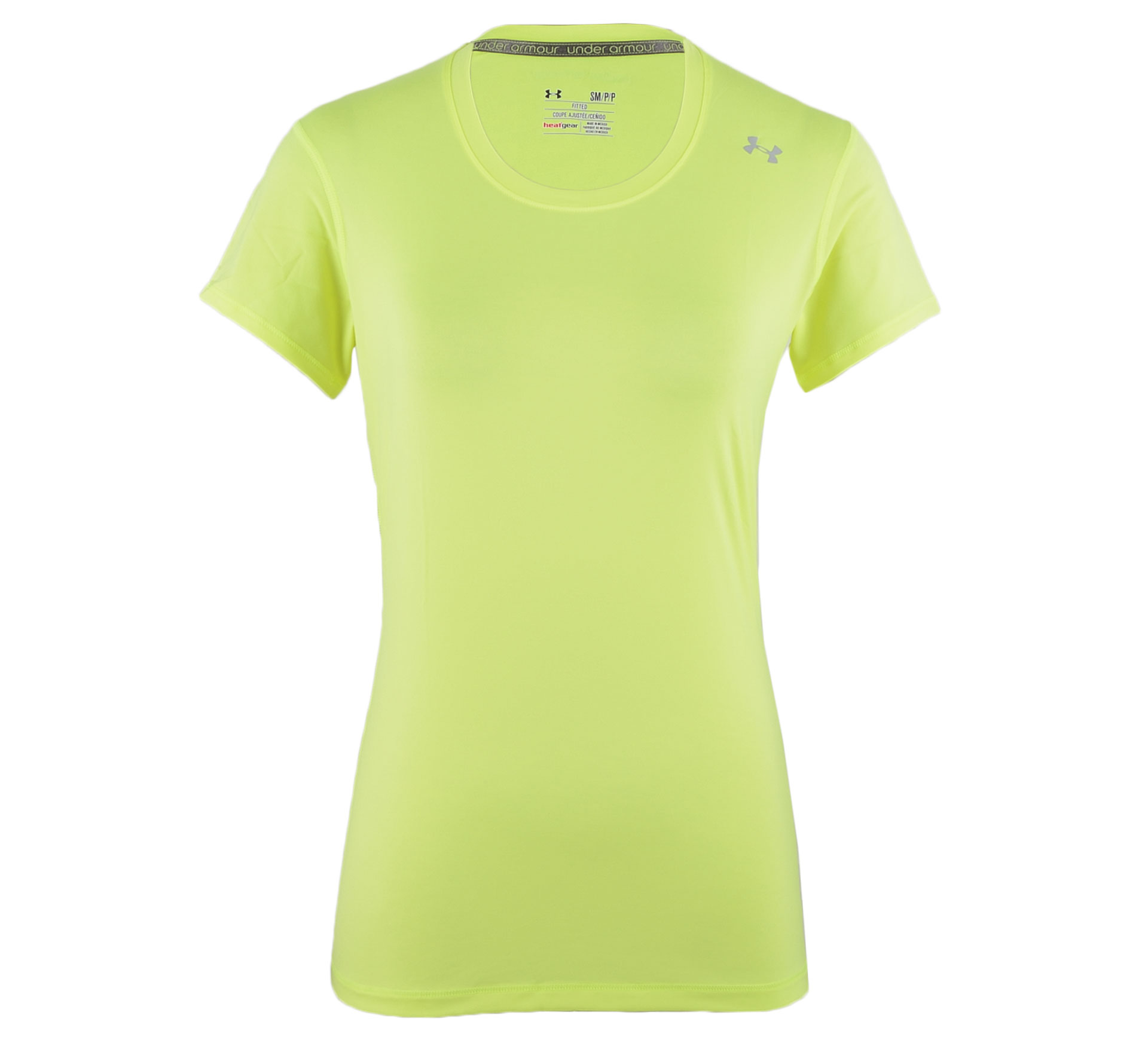 Under Armour Sonic T-shirt Dames geel