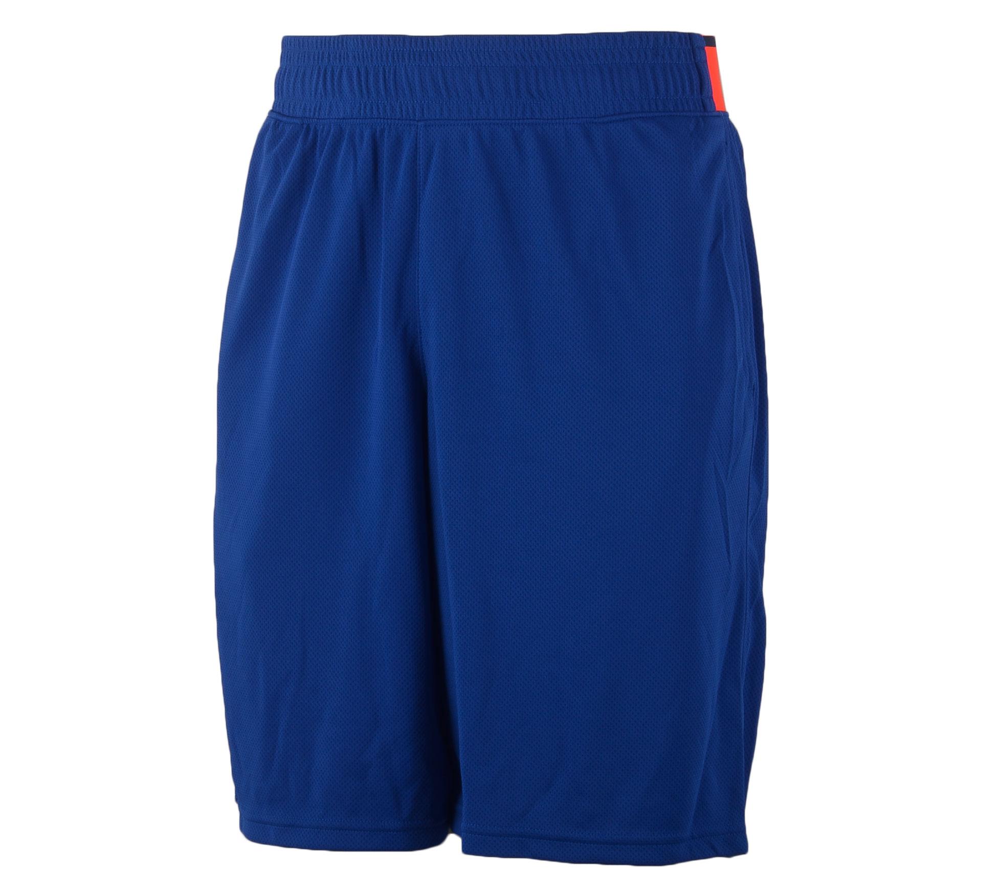 "Under Armour  HeatGear Reflex 10"" Short blauw - rood"