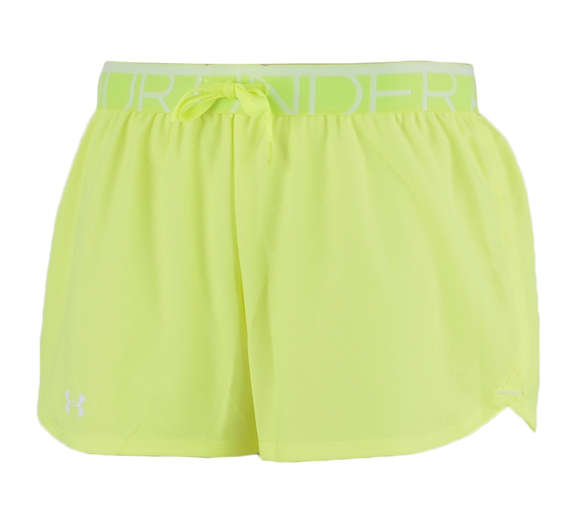 Under Armour Play Up Short Dames geel - wit