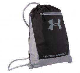 Under Armour Hustle Sackpack zwart - grijs