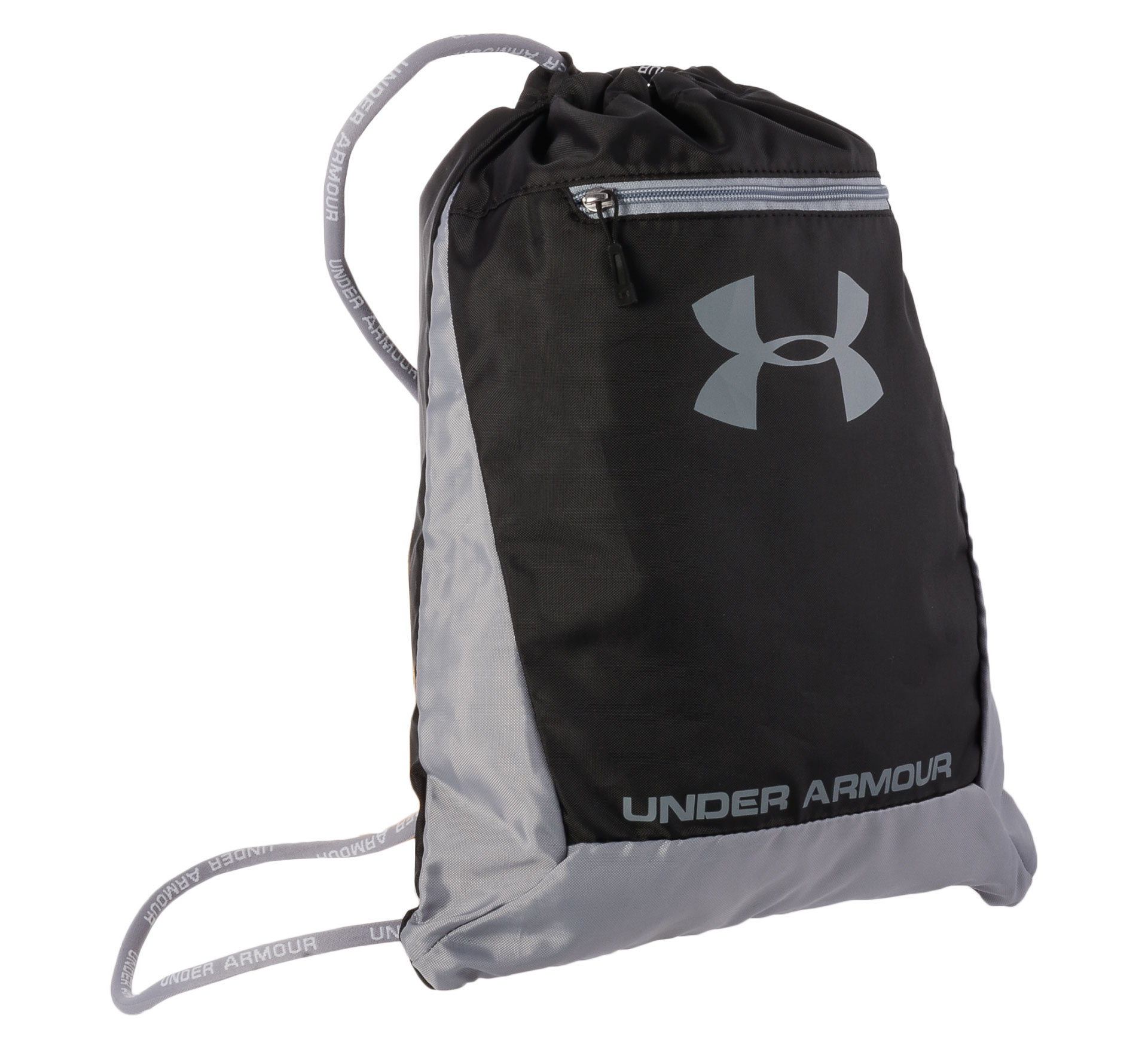 Under Armour Hustle Sackpack zwart - grijs