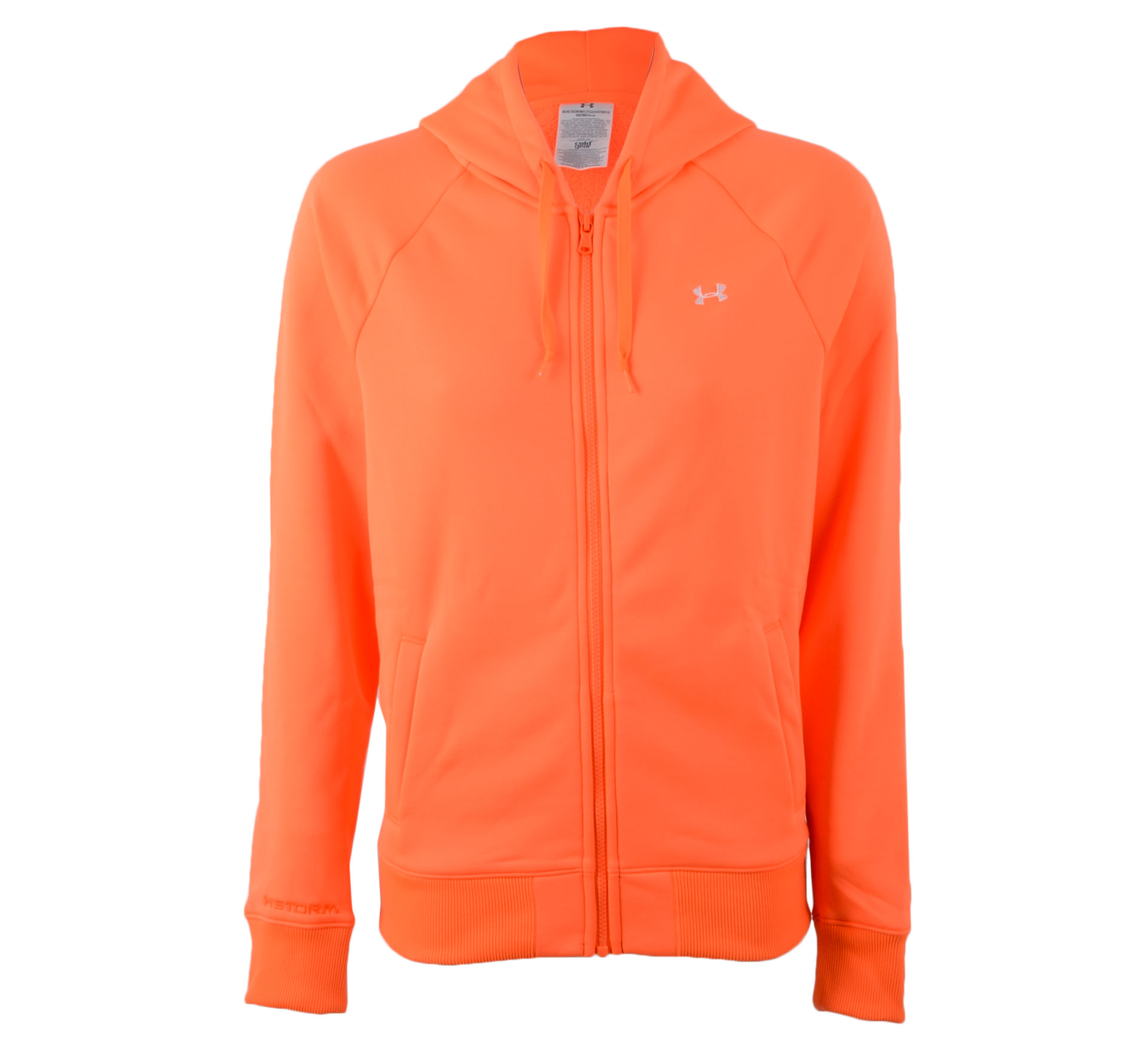 Under Armour  ColdGear Storm Full-Zip Hooded Sweatvest Dames oranje
