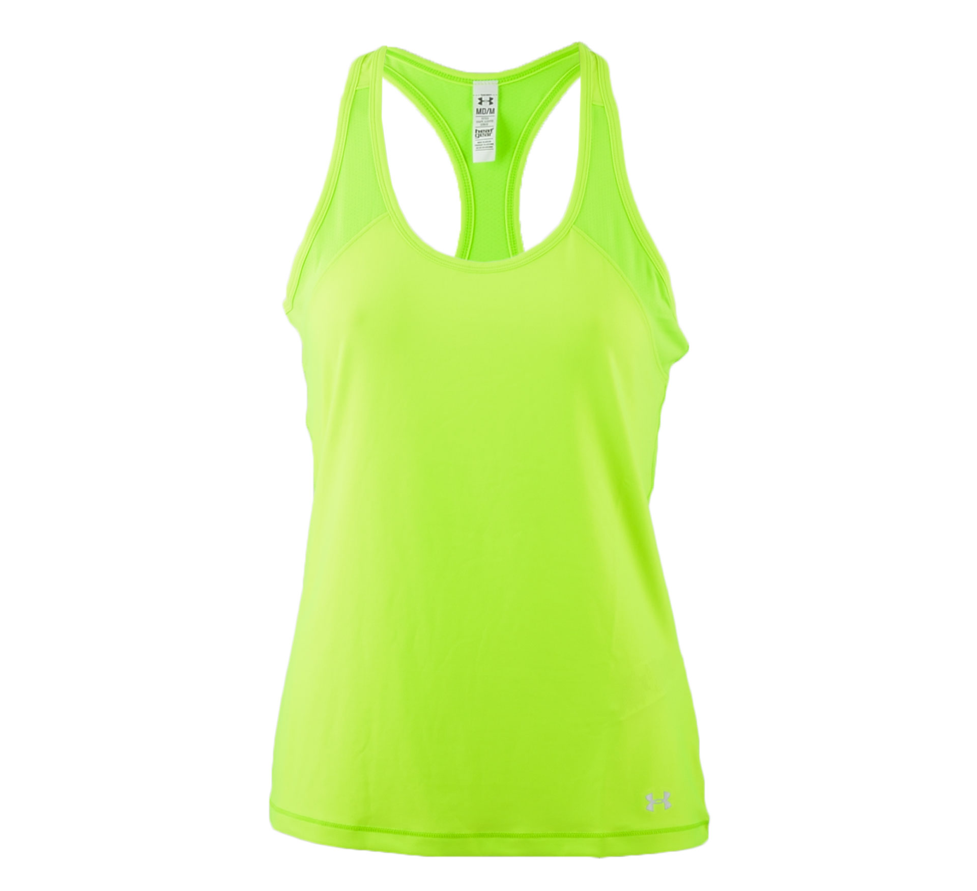 Under Armour  HeatGear Alpha Top W lime groen
