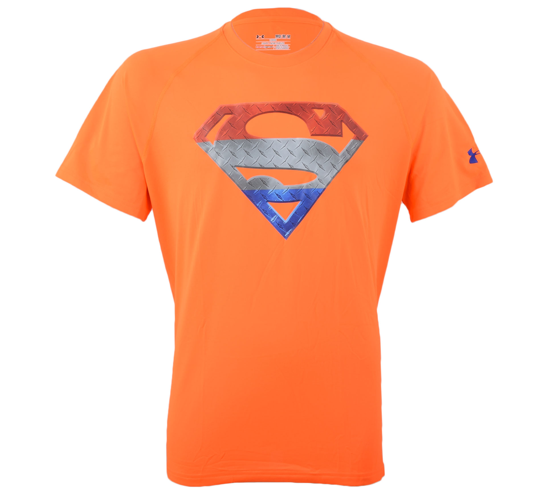 Under Armour Tech Holland Superman T-shirt Heren oranje - rood - wit - blauw