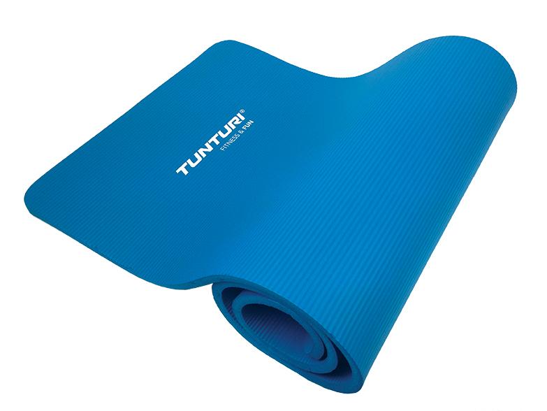 Tunturi  Antibacteriële Fitness Mat - Blauw