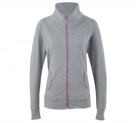 Only Play Trine Sweatvest Dames grijs - roze