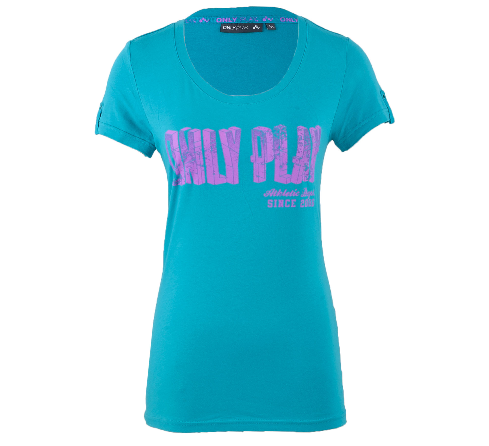 Only Play Alix T-shirt Dames aqua - roze