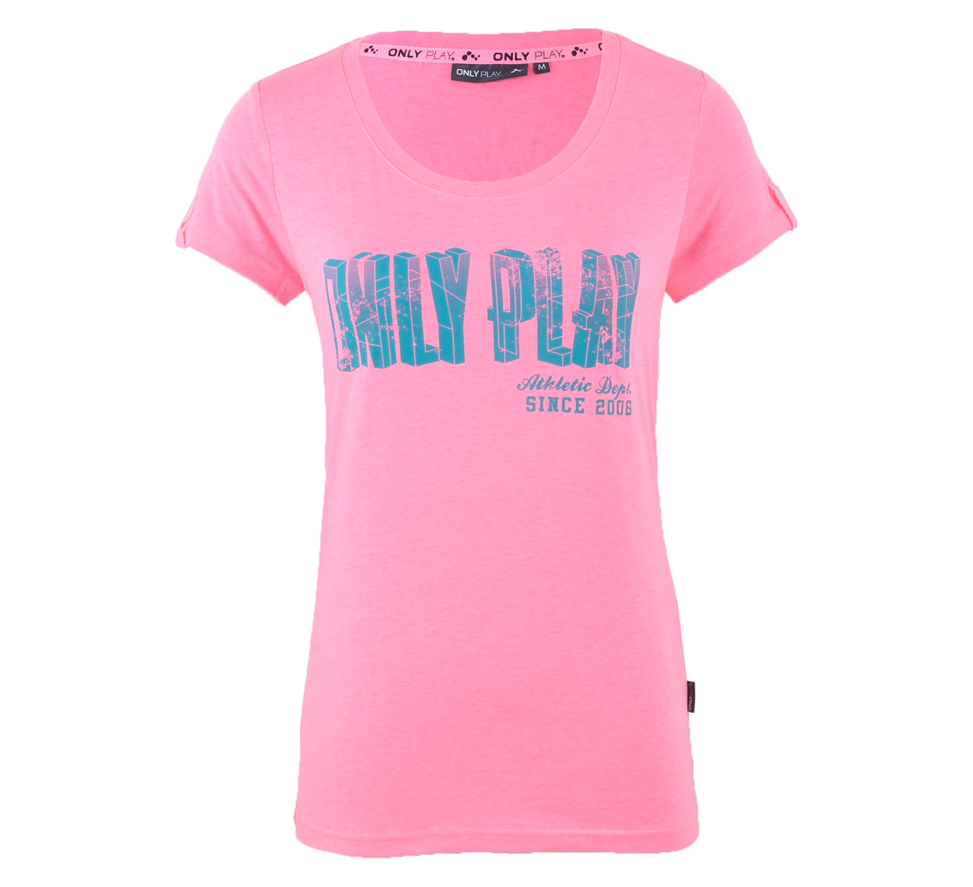 Only Play  Alix T-shirt Dames roze - blauw