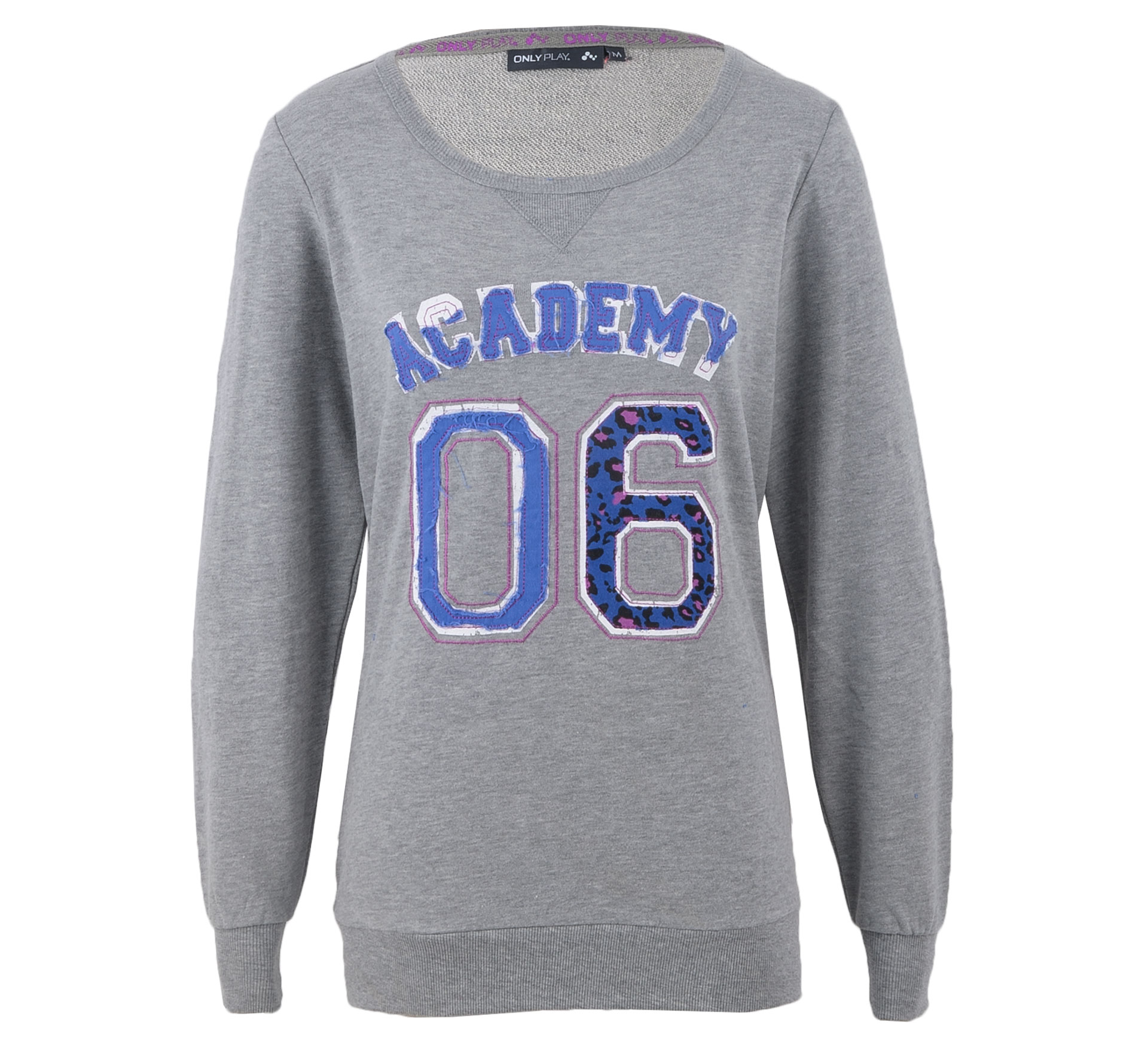Only Play Ketty Sweater Dames grijs