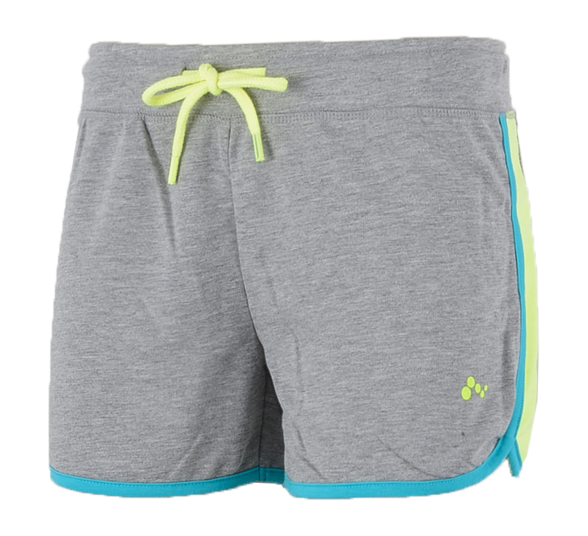 Only Play Asli Sweat Short Dames grijs - blauw - geel