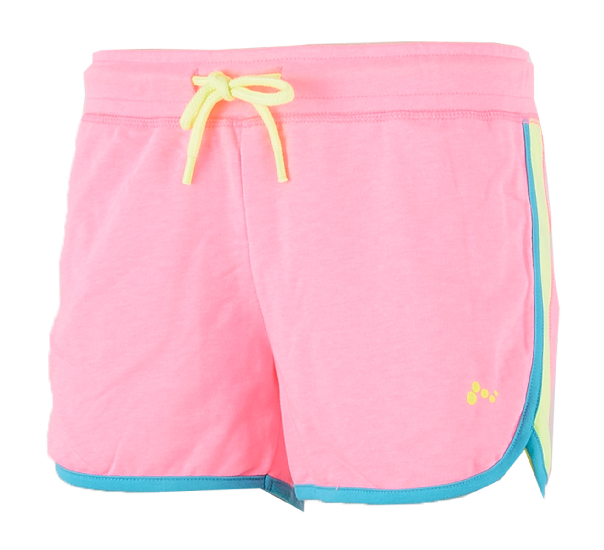Only Play  Asli Sweat Short Dames roze - blauw - geel