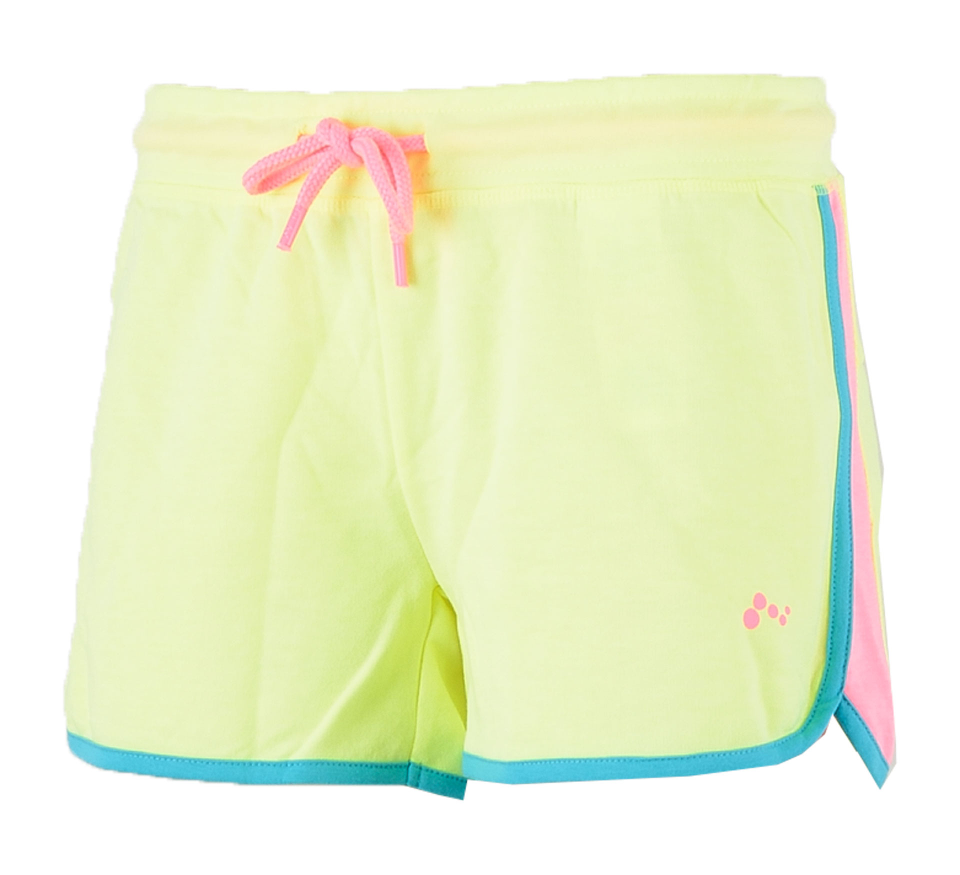 Only Play  Asli Sweat Short Dames geel - blauw - roze