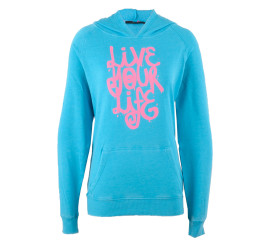 Only Play  Asta Brushed Sweater Dames blauw - roze
