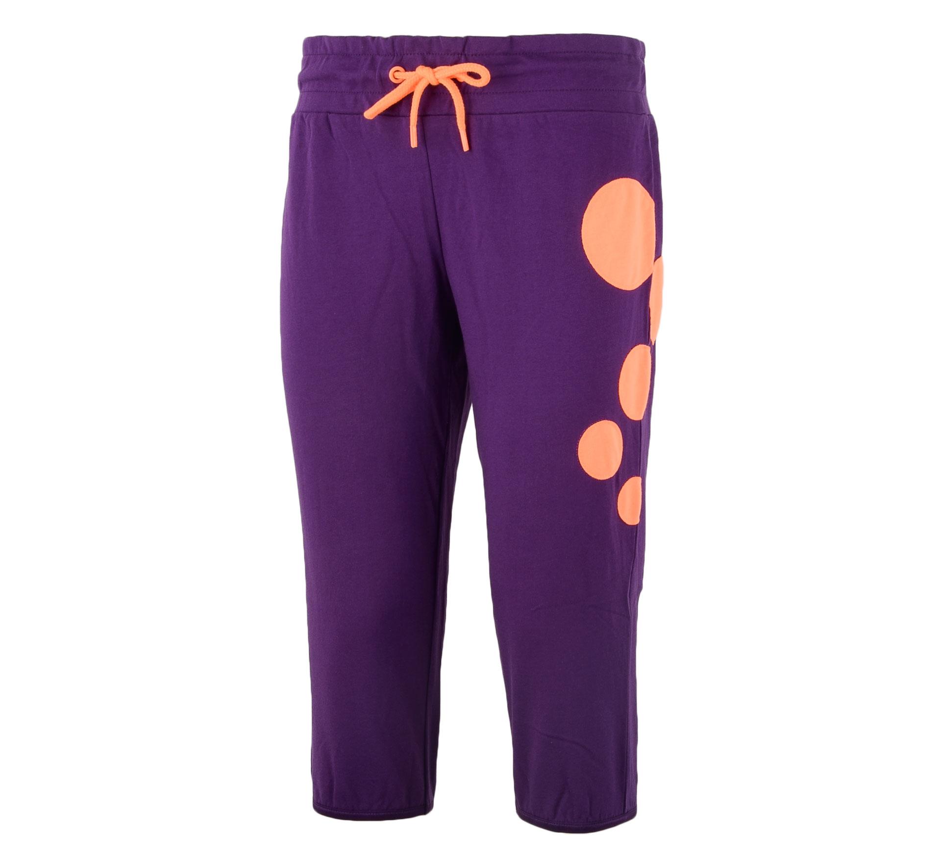 Only Play Claudia Sweat Jogging Capri Dames paars - oranje