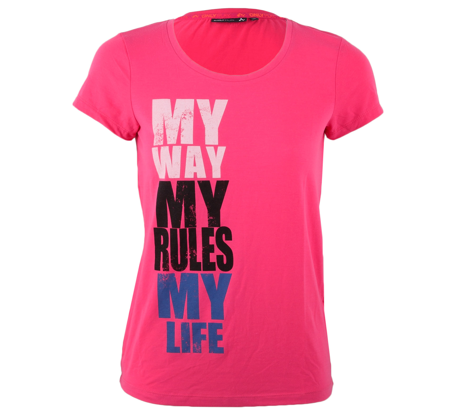Only Play Alexis T-shirt Dames roze