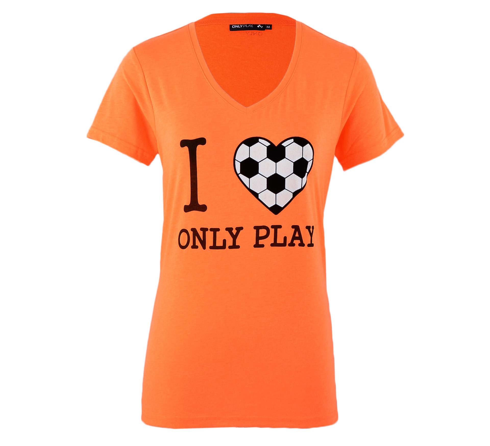 Only Play  Cia Champ Top Dames oranje