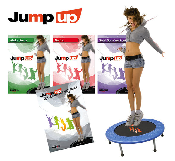 Booming Fitness  Jump up Trampoline en DVD's