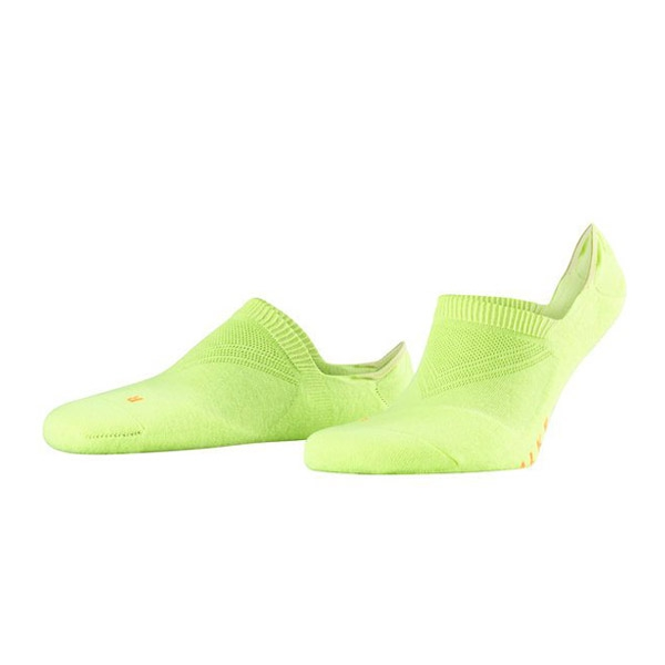 Falke Cool Kick Invisible sokken neon geel