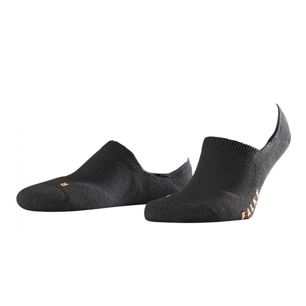 Falke Cool Kick Invisible sokken zwart