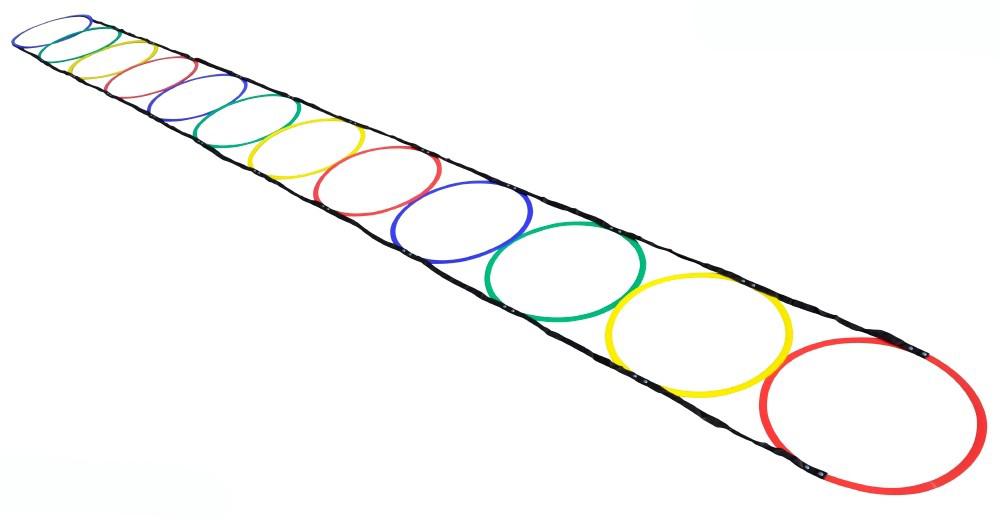 Haest Special Ringen Behendigheid Ladder - 5 m