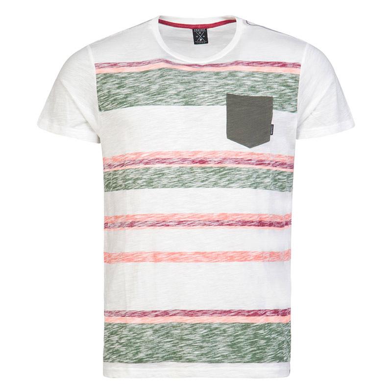 Brunotti Elroy shirt heren wit/groen