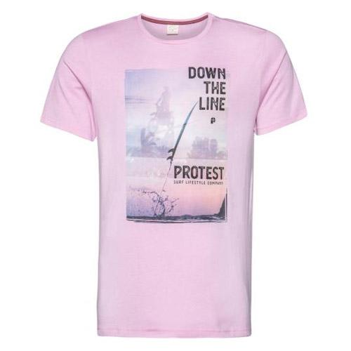 Protest Denver shirt heren zacht roze