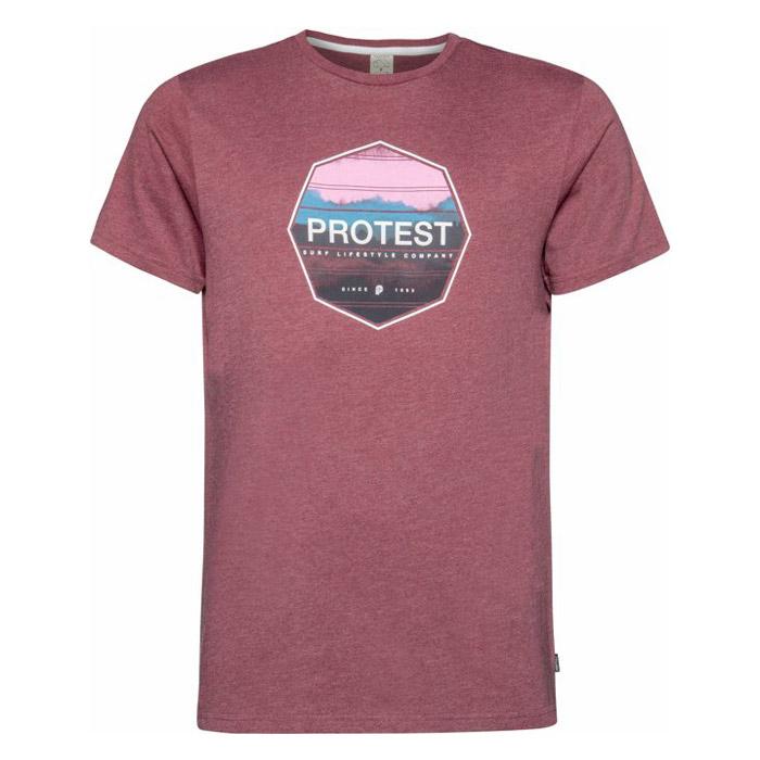 Protest Rag shirt heren bordeaux