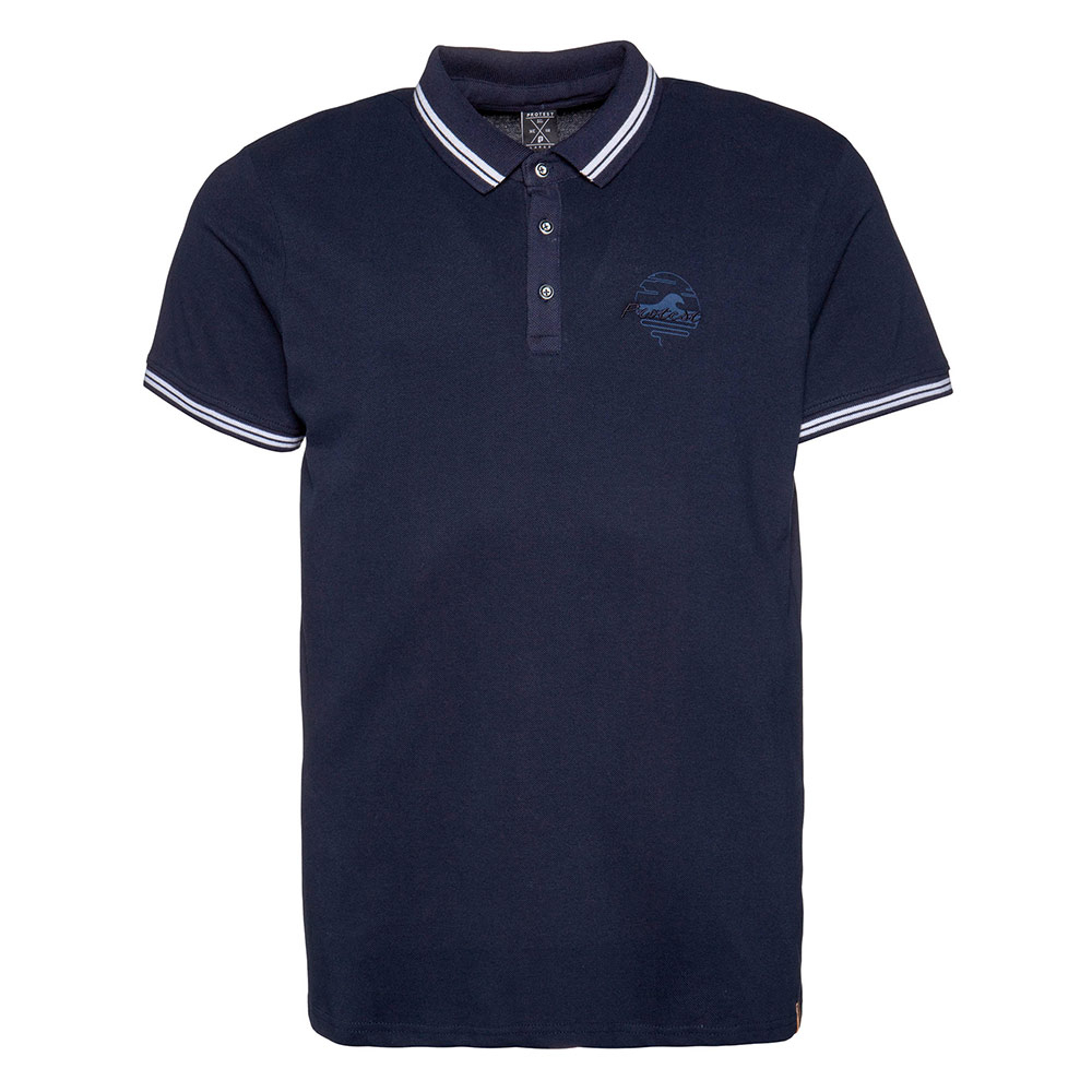 Protest TED polo heren marine/wit