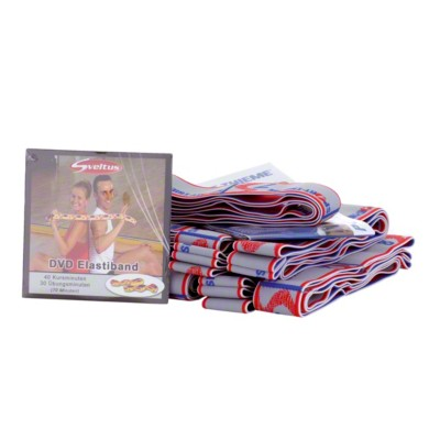 Sport-Thieme ® Elastische band 15 kg set
