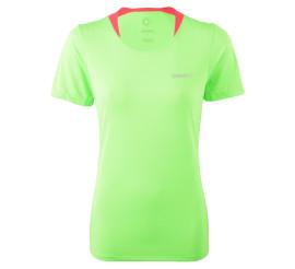 Craft  Joy SS Shirt W groen - roze