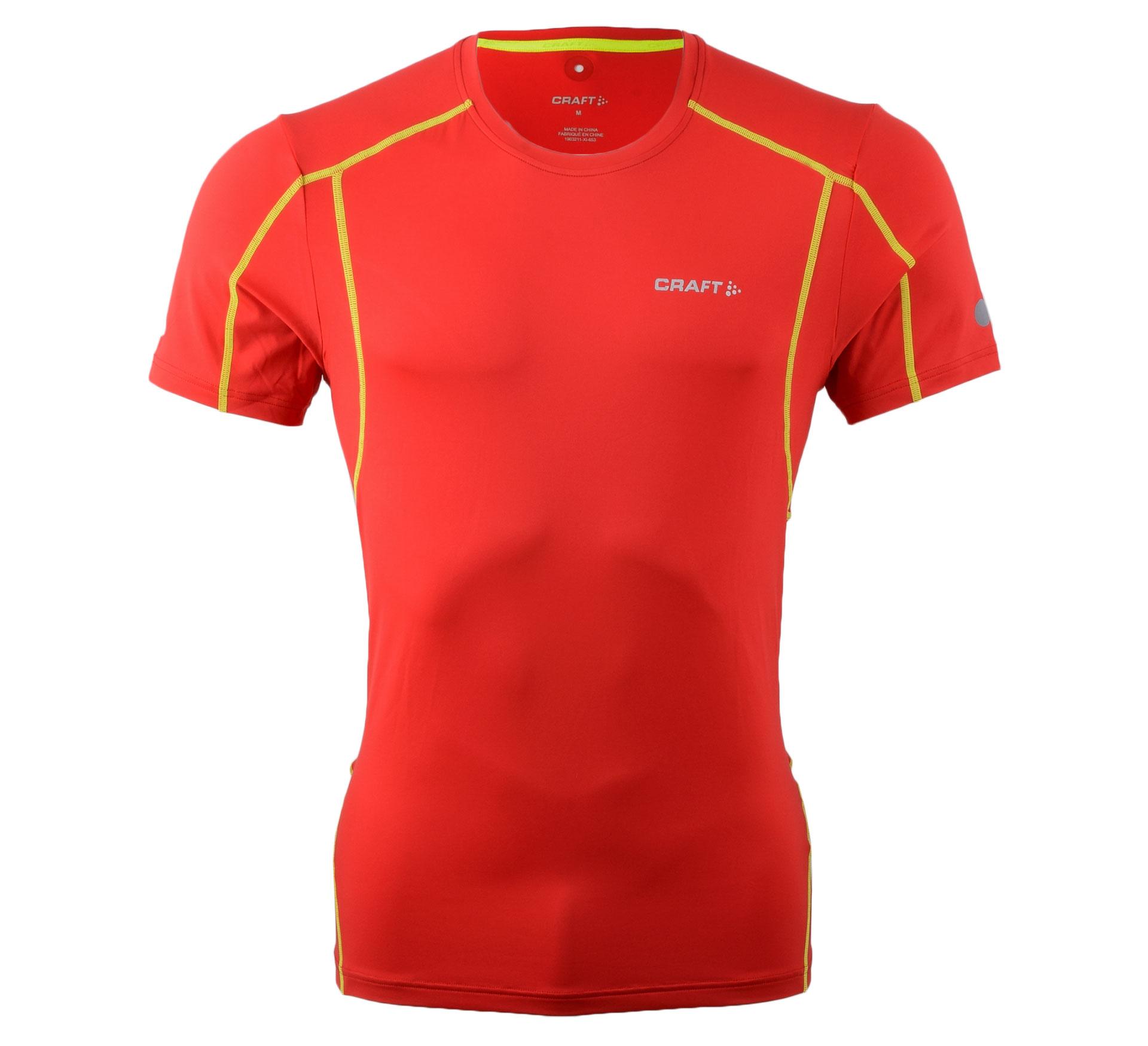 Craft  Focus Cool SS Shirt rood