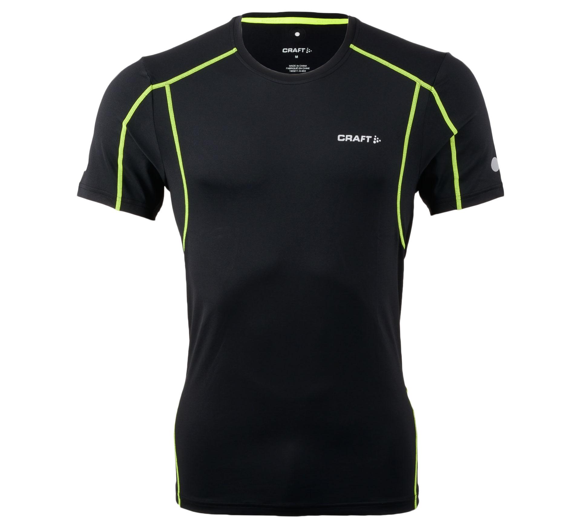Craft  Focus Cool SS Shirt zwart