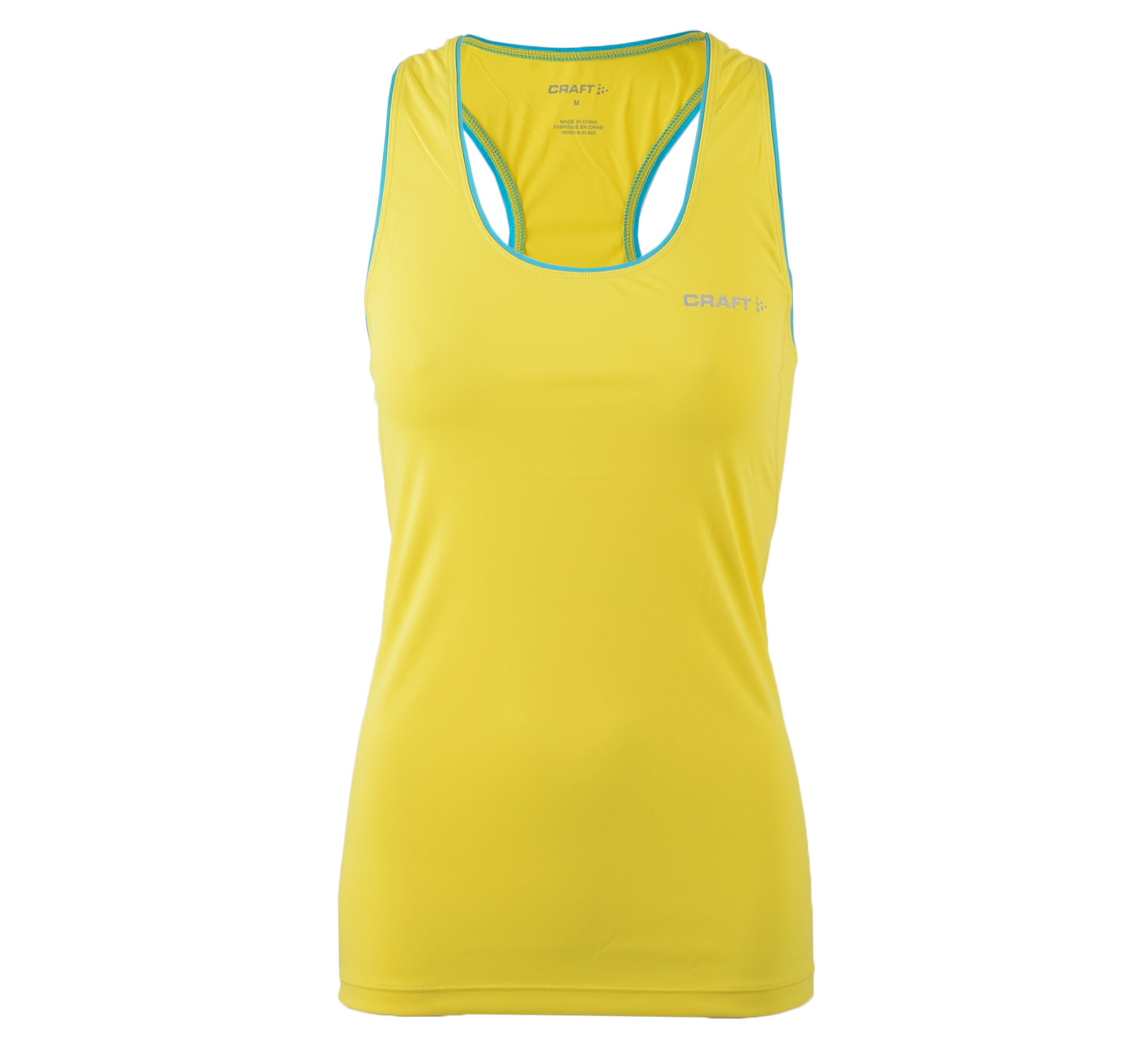Craft Basic Tanktop W geel - blauw