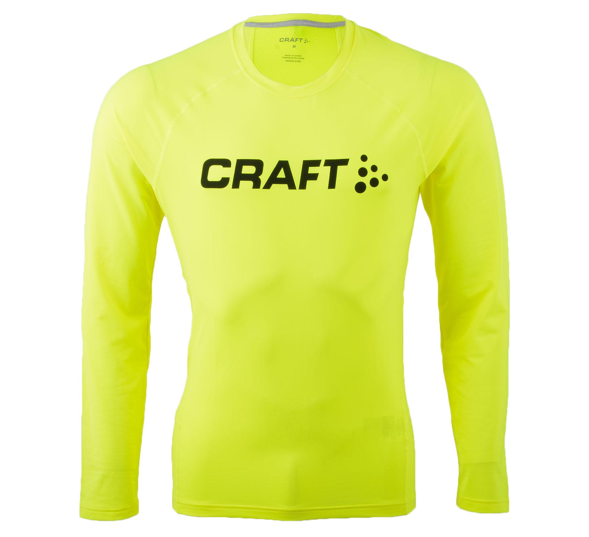 Craft Percise Long Sleeve geel