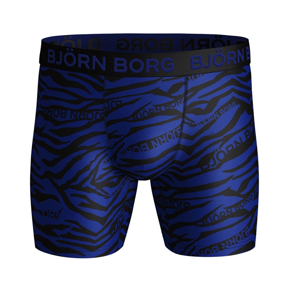 Björn Borg Zebra Performance boxershort heren blauw/zwart