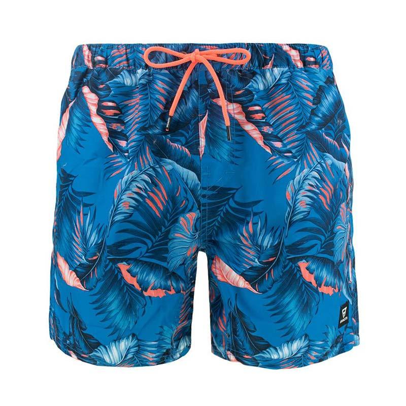 Brunotti Tasker Flower zwemshort heren blauw/palm